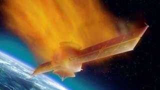 ESA показало на видео, как сгорают спутники в атмосфере Земли