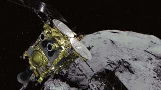 Японский зонд «Хаябуса-2» готовится ко второй посадке на поверхность астероида Рюгу