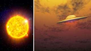Гигантский объект у Солнца, который огорошил специалистов, посеял среди землян панику