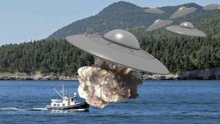 Куча крупных НЛО и ещё кое-какое невероятное явление попали на видео и ввели в ступор исследователей