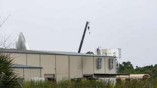 На площадке SpaceX для испытаний космического корабля Starship произошел пожар