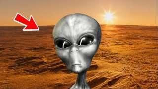 Настоящие карликовые пришельцы, возможно, замечены на Марсе