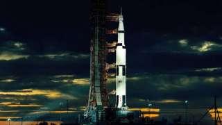 В честь 50-летия первой высадки человека на Луну Монумент Вашингтона в американской столице украсят изображением ракеты