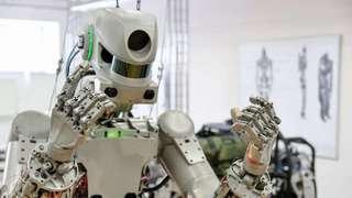 Российский робот FEDOR перед первым полетом в космос получил новое имя