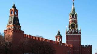 НЛО был замечен над Кремлём