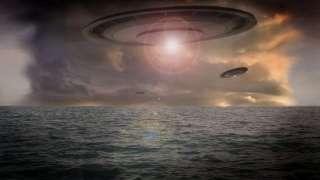 Над Японским морем появился НЛО, который, считают уфологи, брал там воду