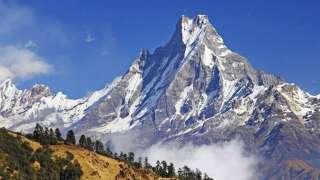 Российский исследователь нашёл огромный НЛО в Гималайских горах