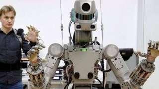 В Роскосмосе рассказали, как создавалась эмблема миссии робота FEDOR на МКС