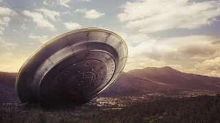 В США сняли на видео, как НЛО терпит бедствие