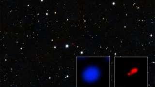 Найдена черная дыра в ранней Вселенной, находящаяся в коконе из газа