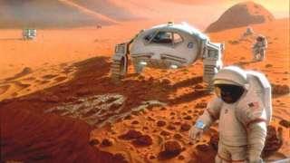 Из-за чудовищной радиации человек сможет слетать на Марс лишь один раз в жизни