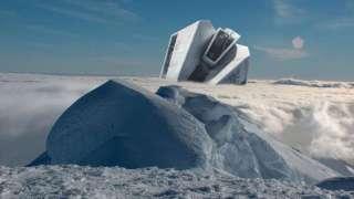 Уфолог обнаружил в Антарктиде космический корабль, которому несколько сотен или тысяч лет