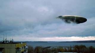 Светящийся НЛО видели в Украине, видео