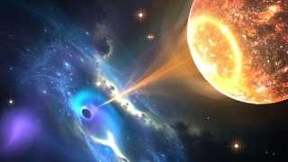 В созвездии Большой Медведицы зафиксировано второе в истории астрономии слияние черной дыры и нейтронной звезды