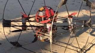 NASA показало прототип робота для изучения Титана