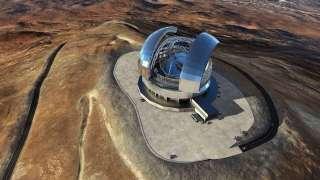 В Чили начали строить крупнейший оптический телескоп в мире