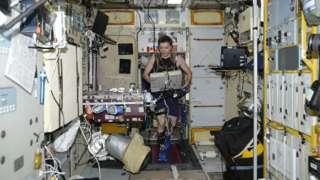 На МКС сломалась беговая дорожка для российских космонавтов