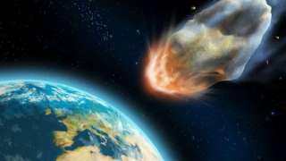 Километровый астероид летит к Земле