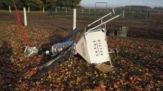 Селфи-спутник от Samsung упал прямо на ферму американской семьи