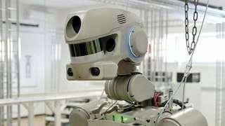 Робот-космонавт FEDOR не смог воспользоваться Google из-за проверки на роботов