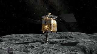 Космический зонд «Хаябуса-2» покидает астероид Рюгу