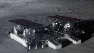 НАСА делится концепцией лунного робота с общественностью