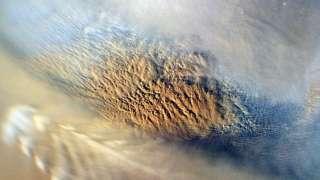 Пылевые бури лишили Марса воды
