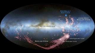 Молодые звезды на окраине Млечного пути рассказали о слиянии двух галактик