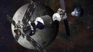 В НАСА планируют отказаться от идеи Лунной орбитальной станции