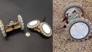 НАСА отправит на Луну миниатюрных роботов трансформеров