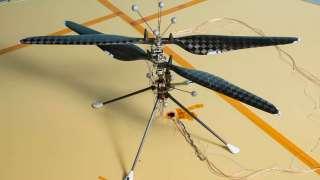 Марсианский вертолет проходит последние предполетные испытания