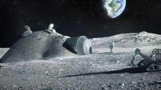 В НАСА рассказали о лунной базе