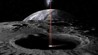 Спутник «Lunar Flashlight» будет искать лед в лунных кратерах