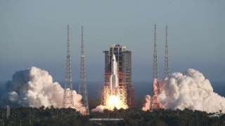 Китай протестировал новый космический корабль и ракету — носитель
