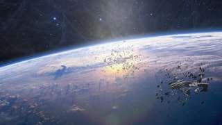 Россия планирует создать буксир для уборки космического мусора