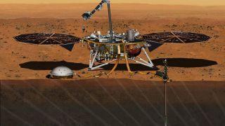 Аппарат InSight помог узнать толщину коры, мантии и диаметр ядра Марса