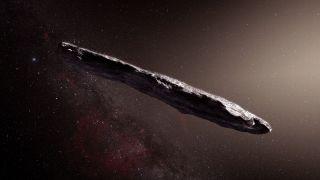 Ученые опровергли гипотезу о водородном составе астероида Оумуамуа