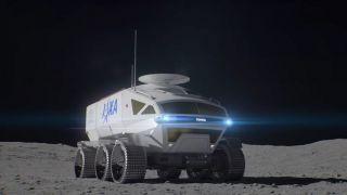 Лунный вездеход от Toyota получил имя Lunar Cruiser