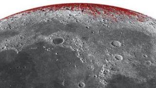 На Луне обнаружили ржавчину