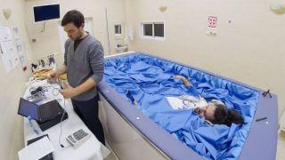 Первый в мире эксперимент в условиях «сухой» иммерсии с участием женщин-добровольцев