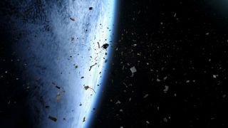 Два крупных объекта космического мусора избежали столкновения