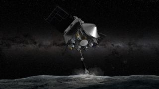Зонд  OSIRIS-REx успешно коснулся астероида Бенну
