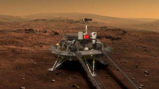 Зонд «Тяньвэнь-1» совершит посадку на Марсе в мае 2021 года