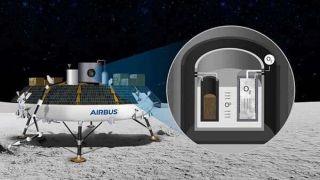 Новый проект ROXY превращает лунную пыль в кислород