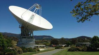 Работа антенны дальней космической связи DSS43 частично восстановлена