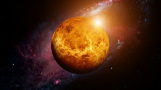 Солнечный ветер крадет атмосферу Венеры