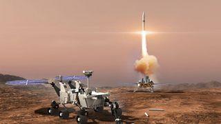 В НАСА планируют миссию по доставке марсианских пород на Землю