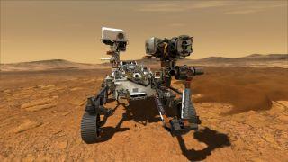 Марсоход Perseverance достигнет поверхности Марса через 100 дней
