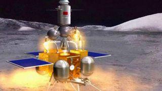 Китайский возвращаемый аппарат «Чанъэ-5» запустят на Луну в конце месяца