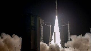 Ракета Vega не смогла завершить миссию по выводу спутников на орбиту